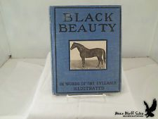 1905 Black Beauty In Words of One Syllable Illustrated Children's Book