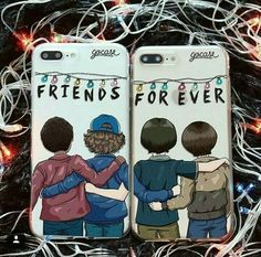 35 New Ideas Wall Paper Celular Iphone Stranger Things Stranger Things Phone Case, Stranger Things Funny, Stranger Things Netflix, Cute Phone Cases, Iphone Cases, Bff Cases, Vexx Art, Stranger Things Merchandise, Friends Phone Case