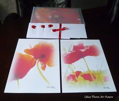 Papier à lettres Coquelicots de Céline Photos Art Nature Celine, Gift Wrapping, Nature, Cards, Photos, Gifts, Etsy, Blog, Poppies