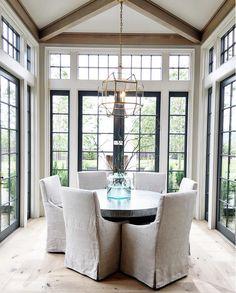 Dining Room Windows. Dining Room Floor to Ceiling Windows. Dining Room. Windows. #DiningRoom #Windows #DiningroomWindows Establish Design.
