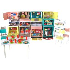 Deluxe Reading Dream Kitchen in Original Box, Vintage 1963, Fits  Barbie and Similar Size Dolls
