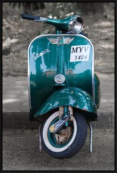 Vintage Scooters by talonfm, via Flickr