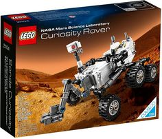 LEGO will launch its 2014 toy line with a fan created model of the Curiosity rover now on Mars. The toy manufacturer announced that its CUUSO NASA Mars Science Laboratory Curiosity Rover set will be available for sale beginning Jan. Mars Science Laboratory, Life Science, Science Fair, Nasa Curiosity Rover, Black Friday Specials, Buy Lego, Shop Lego, Geek Gear, E 10