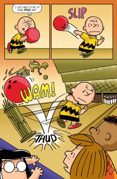 KaBOOM Peanuts Series 2, #7 - Charlie Brown's bowling