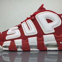 new arrival 48e2b 39aae Superme x Nike Air More Uptempo 902290-600 Sneaker 1