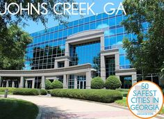 #JohnsCreek # GA is the second safest city in Georgia in 2012 via safewise.com.  Quality schools, business environment, proximity to Lake Lanier, parks, and upscale restaurants and neighborhoods have attracted families to Johns Creek, making it one of fastest and wealthiest growing cities in Georgia.  Nice selection of golf & gated communities, swim & tennis communities, elegant condominiums and beautifully landscaped business parks.