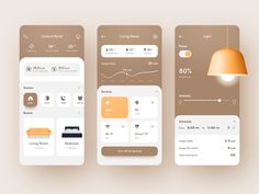 🧠 Smartest Home App 🏠 by Marina Logunova The Effective Pictures We Offer You About travel App Design A quality picture can tell you many things. You can find the most beautiful pictures that can be pr Mobile Ui Design, App Ui Design, Flat Design, Design Design, Design Home App, Design Layouts, Dashboard Design, Graphic Design, Interface Web