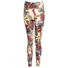 """Floral legging ....  ..... """"http://www.maryjanefashion.com/womens/knitwear-1.html"""" target=""""_blank"""">knitwear and flats for daytime dazzle or team with heels and a simple top and turn heads on the dancefloor!"""