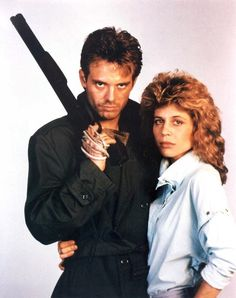 Ine greatest fighting team; what happened? Terminator took over! We only care Reese and Sarah. Arnold stay Evil!  You took the fight away ADAm and eve against the serpent! Michael Biehn as Kyle Reese and Linda Hamilton as Sarah Connor in THE TERMINATOR (1984). Description from pinterest.com. I searched for this on bing.com/images