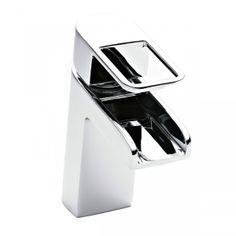Lauren Nevada Open Spout Mono Basin Mixer Tap Without Pop Up Waste Bathroom Sink Taps, Bathroom Store, Big Bathrooms, Modern Bathroom, Electric Showers, Waterfall Taps, Countertop Basin, Hudson Reed, Basin Mixer Taps