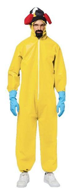 Not Bryan Cranston, but you can get the Heisenberg Look!  Amazon.com: Rasta Imposta Breaking Bad Hazmat Suit, Yellow, One Size: Clothing