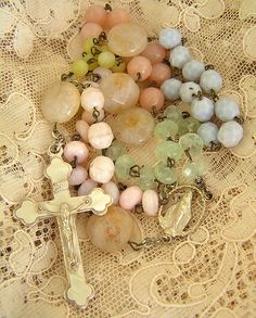 Pastel Rosary Beads