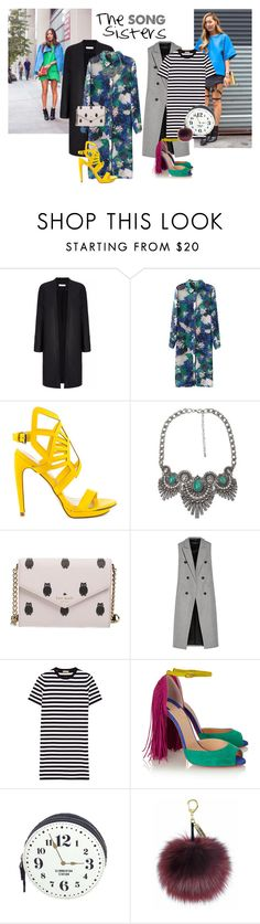 Song Sisters by kreesha on Polyvore featuring Michael Kors, rag & bone, Christian Louboutin, Penny Loves Kenny, Kate Spade and BKE
