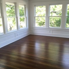 Look at these wood windows and floors that were restored- hard to believe they are over 100 years old! #magnoliahomes