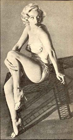 Marilyn, photgraphed by Nick De Morgoli, 1953