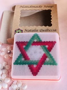 """Handmade soap, """"Quilt collection"""", thread conditioner, pin cushion Ironing Pad, Knitting Supplies, Craft Bags, Cute Little Things, Practical Gifts, Hand Quilting, Handmade Soaps, Quilt Making, Pin Cushions"""