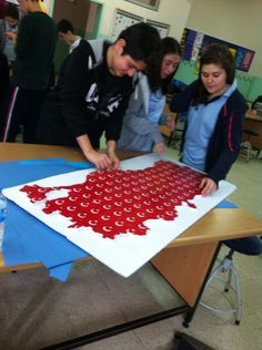 Türkiye çalışmamıZ Art School, Art For Kids, Projects To Try, Education, School, Art For Toddlers, Art Kids, Onderwijs, Learning