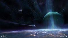 Destiny: Space Epic, Dorje Bellbrook on ArtStation at http://www.artstation.com/artwork/destiny-space-epic