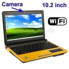 Laptop 10.2 pollici (schermo Wide) TFT LCD,Wi-Fi, fotocamera da 1.3 Mega pixel, supporto SD / MS / MMC / MS-PRO Card, CPU: processore Intel Atom D425, 1.8GHz