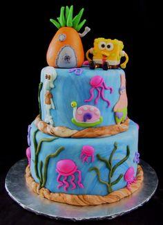 Spongebob Square Pants Cakes