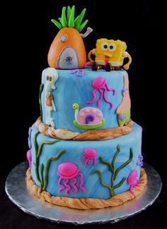 Spongebob Square Pants Cakes