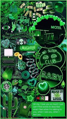 IPhone Hintergrundbild von Aesthetic – Green collage🍃💚🍏 – – Iphone Wallpaper from Aesthetic – Green collage🍃💚🍏 … Iphone Wallpaper Green, Neon Wallpaper, Aesthetic Pastel Wallpaper, Tumblr Wallpaper, Aesthetic Backgrounds, Wallpaper Quotes, Aesthetic Wallpapers, Wallpaper Samsung, Dark Green Aesthetic