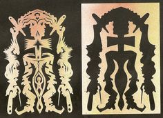 different way of seeing  切り絵の遠く - 田中良平 切り絵・切り紙制作所  http://blog.goo.ne.jp/ryohei_cuts