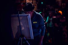 Dean Stanton artists at Art Combat YYC