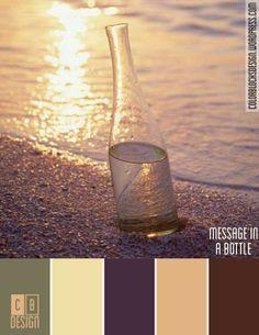 Message in a Bottle   Color Blocks Design