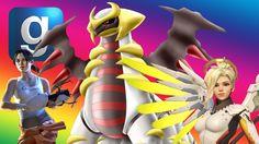 Gmod Catapult Toss - Overwatch - Portal  - Pokemon Mod -Garry's Mod Fun ...