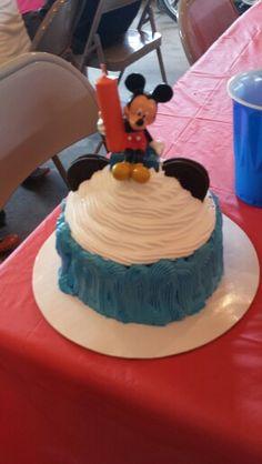 Mackey Mouse baby cake 5-16-15