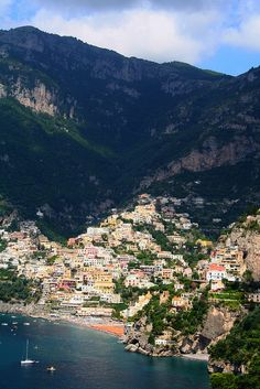 Positano, Italy-I was told I have to visit here someday!