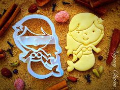3D Little Mermaid Cookie Cutter, Under the Sea Cookie Cutter by SugaryCharm on Etsy https://www.etsy.com/listing/224756532/3d-little-mermaid-cookie-cutter-under