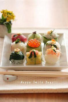 手毬寿司。