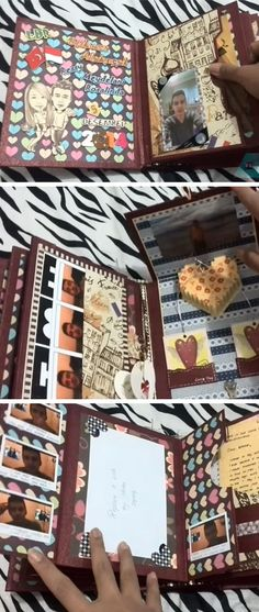 DIY Scrapbook for Boyfriend | DIY Valentine Gifts for Him | DIY Valentine Gifts for Boyfriend