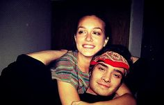 Ed Westwick and Leighton Meester / Chuck and Blair