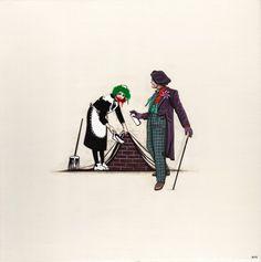 Le Joker inspire Banksy (The Dark Knight)