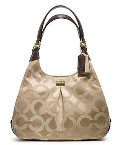 COACH MADISON OP ART SATEEN MAGGIE - Coach Handbags - Handbags & Accessories - Macy's,DESIGNER COACH BAGS WHOLESALE