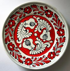 Your place to buy and sell all things handmade European Dishes, Transylvania Romania, Creative Home, Paper Cutting, Art Pieces, Decorative Plates, Arts And Crafts, Pottery, Traditional