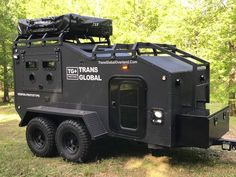 Offroad Tactical Overland Camping Trailers and Camping equipment Bug Out Trailer, Off Road Camper Trailer, Trailer Plans, Camper Trailers, Travel Trailers, Jeep Camping Trailer, Tiny Trailers, Trailer Build, Expedition Trailer
