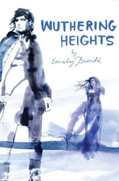 """ What I am reading now: Wuthering Heights by Emily Brontë That cover! It's gorgeous. There are several books in the Classic Lines series that have covers by Sara Singh, who I. Cool Books, I Love Books, Books To Read, My Books, Montgomery Clift, Wuthering Heights, Marcel Proust, Book Cover Design, Book Design"