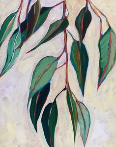 Gallery - Sari Not Sorry Art by Sari Shryack Plant Painting, Painting & Drawing, Inspiration Artistique, Graffiti Murals, Guache, Botanical Art, Beautiful Paintings, Art Images, Art Inspo