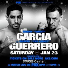 TweetTweet  GARCIA VS. GUERRERO REJECTED FOR THE WBA SUPER CHAMPIONSHIP & MAYWEATHER WILL BE STRIPPED OF WBA CHAMPIONSHIP Los Angeles, CA (January 8th, 2016)– The World Boxing Association will remove Floyd Mayweather Jr.from his position asthe reigning world champion at welterweight and junior middleweight at the end of the month. Mayweatherretired last September after …