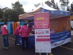 Presentes en el Maratón de la Cd. de México