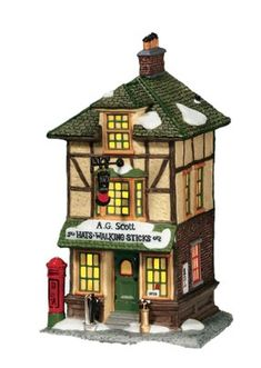 Department 56 Dickens Village Ag Scott HatsWalking Sticks >>> Read more reviews of the product by visiting the link on the image. #XmasCollectibleBuildingsAccessories