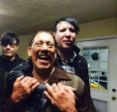 Danny Trejo & Marilyn Manson