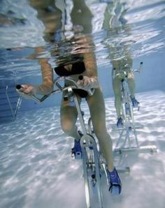 SHUTUP!!!! Aqua Spin - the biggest difference between a regular spin class and an aqua spin class is that aqua spin is said to reduce stress on joints due to the low impact, the calorie burn is up to 900 calories per hour, your body temperature is less elevated and therefore the participant is more comfortable, it is a reduction in muscle aches and pains due to the water involved! WANT TO DO THIS NOW!!!!!!!