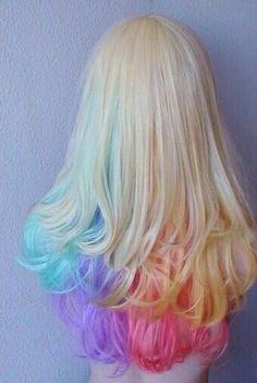 COLORED HAIR BLOG ♥