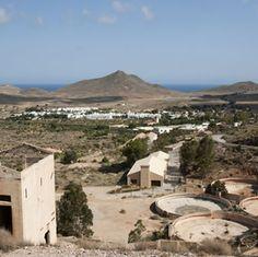 The old gold mines of Rodalquilar - Cabo de Gata - Almeria