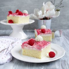 Himbeer - Raffaello - Kuchen